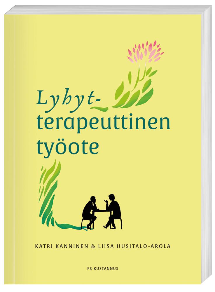 Lyhytterapeuttinen työote -kirjan kansi